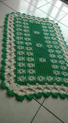 Handmade Placemats Set of Crocheted Placemats Crochet Doily Rug, Crochet Mittens Free Pattern, Crochet Placemats, Crochet Carpet, Crochet Square Patterns, Crochet Cushions, Filet Crochet, Crochet Flowers, Crochet Baby