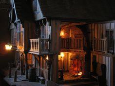 miniature tudor style doll house