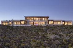 Explore South Africa's coast at the Morukuru Beach Lodge. The oceanfront resort is located within the De Hoop Nature Reserve on the country's Western Cape. Ocean House, Nature Reserve, Africa Travel, Lodges, South Africa, Building A House, Mansions, Luxury, House Styles