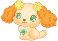 1000 images about jewelpets on pinterest sanrio garnet and blue dog - Jewelpet prase ...