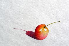 Ideas for fruit drawing art projects - Fruit - Obst Watercolor Fruit, Fruit Painting, Watercolor Sketch, Watercolor Illustration, Watercolor Flowers, Watercolour Painting, Watercolours, Fruits Drawing, Step By Step Watercolor
