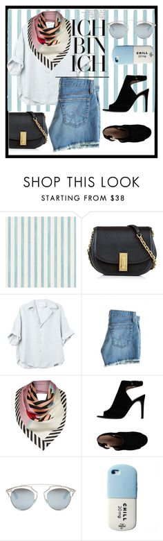 """""""SUNDAY"""" by barbaraa-escalantee on Polyvore featuring moda, Christian Lacroix, Marc Jacobs, AG Adriano Goldschmied, Lulu Guinness, Tory Burch, Christian Dior y Valfré"""