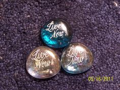 Smilestones that can be personalized.  great party/wedding favors