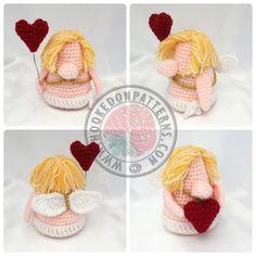 Cupid Gonk Free Crochet www.hookedonpatterns.com