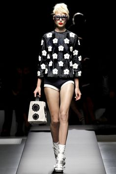 Prada S/S 2013 - MFW.    Looks just like the GEMLINE Meribel Reversible Tote - Gemline on Trend!  www.gemline.com