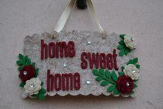 Targhetta Home Sweet Home