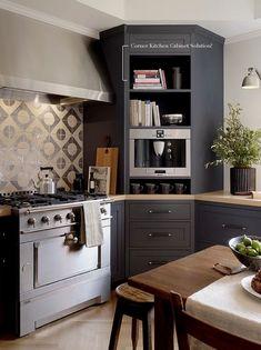 Kitchen Cabinet Decor Ideas - CLICK THE PICTURE for Many Kitchen Cabinet Ideas. 57393245 #cabinets #kitchenorganization