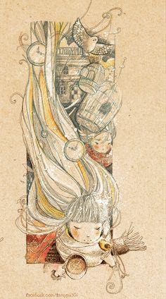 missing u by *tamypu  Vietnamese artist