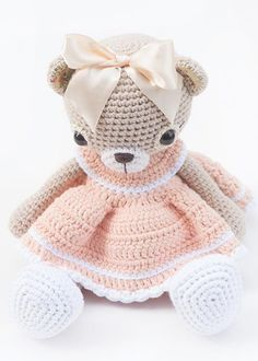 Cuddly Amigurumi Toys - Lilleliis