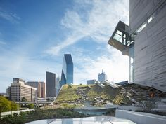 Talley Associates roof garden of Perot Museum of Nature and Science