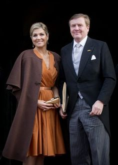 King Willem-Alexander of The Netherlands, Queen Maxima of The Netherlands and Princess Beatrix attended the New Years reception with members of the Corps Diplomatique at the Royal Palace January 13, 2016 in Amsterdam.