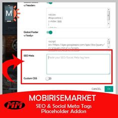 Mobirise free extensions, templates, themes and website builder Download. Get the latest version on MobiMarket