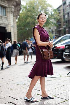 On the Street…..Piazza Oberdan, Milan - The Sartorialist