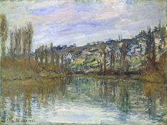 The Seine near Vetheuil, 1897 - Claude Monet - WikiArt.org