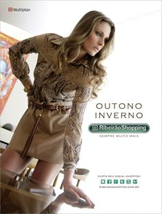 Styling - Campanha Ribeirão Shopping - Outono Inverno 2012