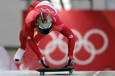 Gold medlaist Sungbin Yun of South Korea starts his first run during the men's skeleton competition at the 2018 Winter Olympics Bobsleigh, 2018 Winter Olympics, Tony Stark, South Korea, Skeleton, The Man, Motorcycle Jacket, Competition, In This Moment