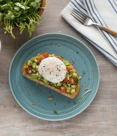 Poached Egg Avocado Toast - Avocados From Mexico