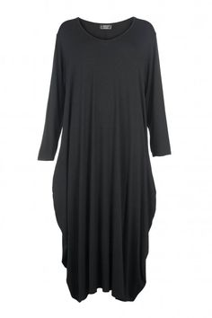 Shop Black Balloon Dress AKH from idaretobe UK online stockist. Balloon Dress, Black Balloons, Balloon Shapes, Winter Dresses, Plus Size, Autumn, Shirt Dress, Pure Products, My Style
