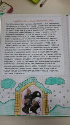 I giorni della merla Montessori, Books, Winter Time, Legends, Spring, Libros, Book, Book Illustrations, Libri