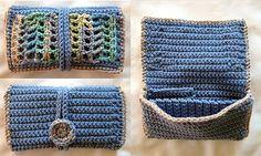 Clutch Wallet ~ free pattern ᛡ