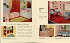 1956 Home Decorator and how-to-paint book | PAINT / DECORATING