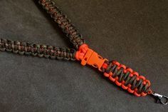 whistle buckle paracord lanyard - Google Search