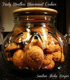 Sandra's Alaska Recipes: FRUITY MEATLESS MINCEMEAT COOKIES (Easy 'N Tasty) ~ [Click image for recipe]...