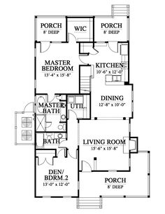 Allison ramsey architects floorplan for coosaw river cottage elevation malvernweather Gallery