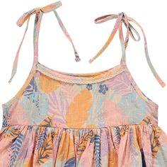 Juliet Organic Cotton Tropical Dress-product