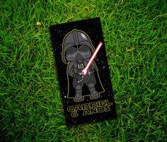 Adesivos Star Wars Darth V Tubetes 8x4cm