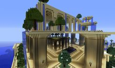 this is our vision of the ancient garden of babylon View map now! The Minecraft Map, Garden of babylon, was posted by miles much. Minecraft Garden, Minecraft City, Minecraft Funny, How To Play Minecraft, Minecraft Projects, Minecraft Designs, Minecraft Ideas, Minecraft Stuff, Cool Minecraft Creations