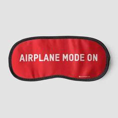 Airplane Mode On - Sleep Mask