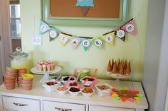 ice cream party DIY bar