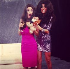 It was a freakin' zoo on E! News when the 'Real Housewives' invade Halloween!!!