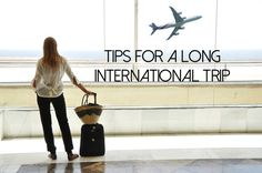 Tips for international travel (overseas travel)