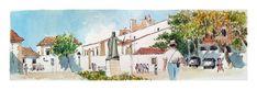 https://flic.kr/p/pho5mc   croquis: Faro - Portugal   croquis bic et aquarelle sur le vif / on location bic and wash sketch