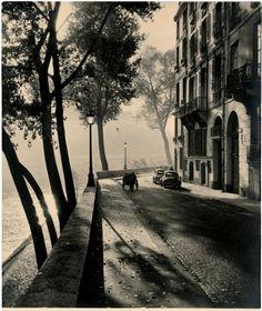 Albert Monier: Quais de Seine, 1940.