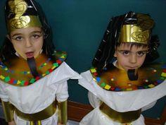 Thema Egypte, kleuters