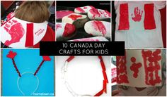 10 Canada Day Crafts for Kids Preschool Crafts, Crafts For Kids, Diy Crafts, Canada Day Flag, Happy Birthday Canada, Canada Day Crafts, National Flag, Fireworks, Holidays