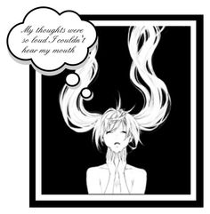 My thoughts by italia-kun on Polyvore featuring polyvore art