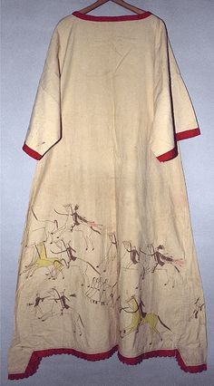 Collections Search Center, Smithsonian Institution. Платье Сиу, 1890-1900. Деталь.
