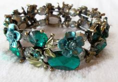 Emerald Green Bracelet  Jewelry Design by CreationsByJanetUSA, $45.00 NEW COLOR