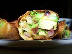 copycat cheesecake factory's avocado egg rolls