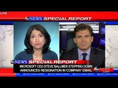 Microsoft CEO Steve Ballmer to Retire - YouTube