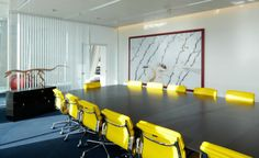 Inside Saxo Banks Art filled Headquarters