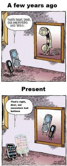 Our ancestors had tails... had buttons