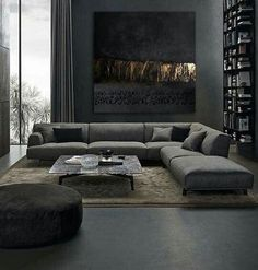 25 Elegantly Stylish Masculine Living Room Ideas with Bold Nuance Mid Century Modern Living Room Bold Eleg Elegantly ideas Living Masculine Nuance Room Stylish Living Room Sofa Design, Home Living Room, Interior Design Living Room, Living Room Designs, Living Room Decor, Interior Livingroom, Masculine Living Rooms, Masculine Room, Masculine Interior