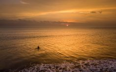 Gone Fishing http://www.brucelevick.com/gone-fishing/ A lone fisherman wades into the receding tide as the sun sets, he casts his nets in the hope of a quick catch for an evening meal.  #Beautifulworld, #Exploreasia, #Exploreindonesia, #Fisherman, #Mysumatra, #Sunset