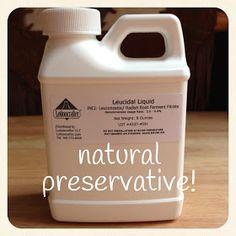 Fresh Picked Beauty: Leucidal® Liquid Natural Preservative