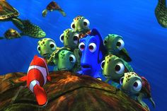 It is important to note that movies such as Finding Nemo or I am Sam can educate the audience about disabilities. In the movie Finding  Nemo Dorthy tells Marlin that she suffers from short term memory loss. Consequently, if they film the movie Finding Dorthy the movie producers have the opportunity to educate the audience about mental disorders.